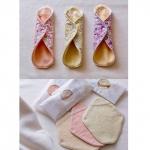 【女性限定】草木染めオーガニックコットン使用「愛おしむ布なぷきん」 画像