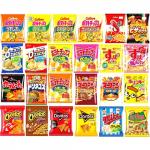 食べてもおすそ分けしてもなかなか減らない!「怒涛のスナック菓子24種セット」 画像