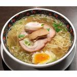まろやかな旨味の澄んだスープが絶品!『函館麺厨房あじさい』塩ラーメン(3食) 画像